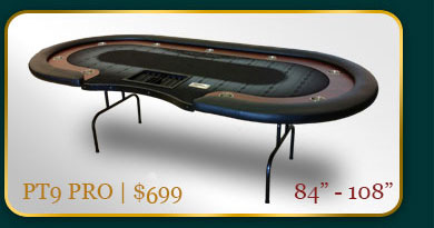 Poker Table   (888)733-4645 - USA Gaming Supply